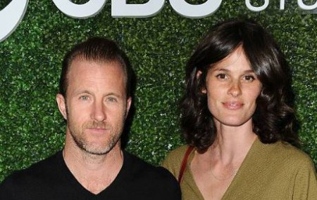 Kacy Byxbee, along with her boyfriend, Scott Caan. Source: Getty Images