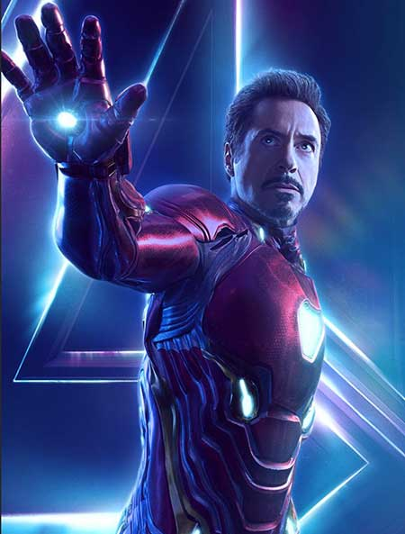 Robert Downey Jr. from Marvel movie. Source: Daily Image